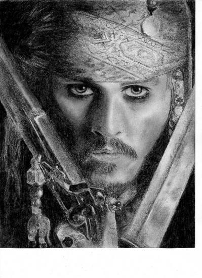 Johnny Depp por Klemmapuce